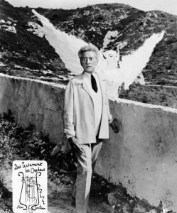 Жан Кокто. Сцена из фильма «Завещание Орфея»